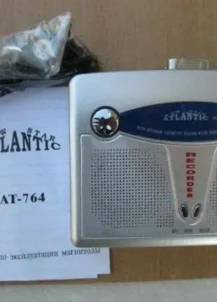 Кассетный плеер Atlantic AT-764 запись, FM приемник,автореверс