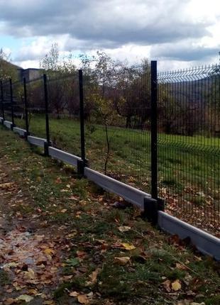 Установка заборов и ворот
