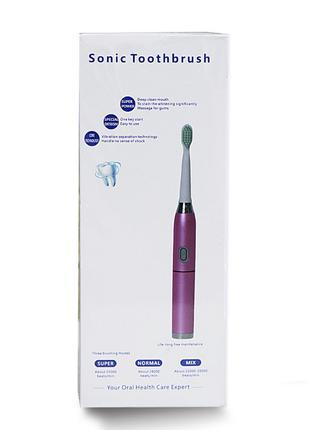 Электрическая зубная щетка Sonic Toothbrush expert 3 режима чи...