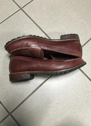 Туфли осенние timberland фирменные дорогой бренд оригинал