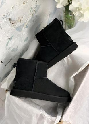 Шикарные угги ugg mini black