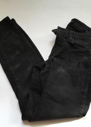 Джинсы чёрные cambio jeans