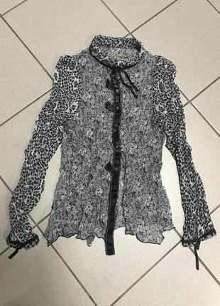 Блуза шелк bottega venetta