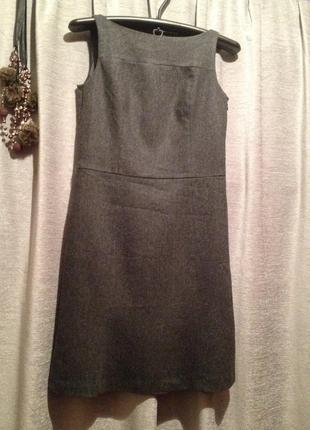 Платье-сарафан шерсть.410