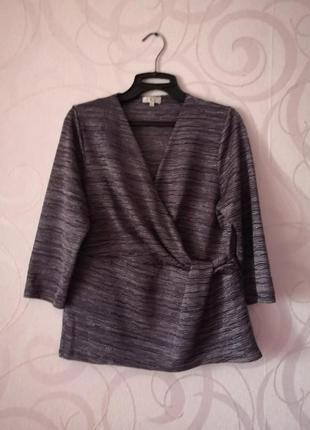 Фиолетовый топ-кимоно