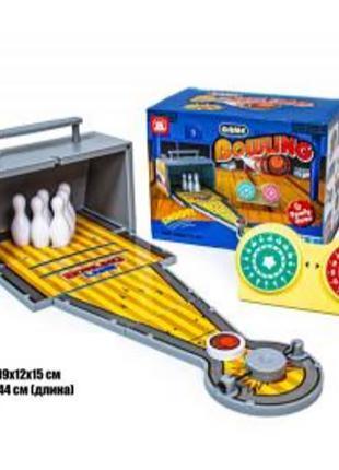 Игровой набор Sb Настольный детский боулинг 977-61, кегли, зап...