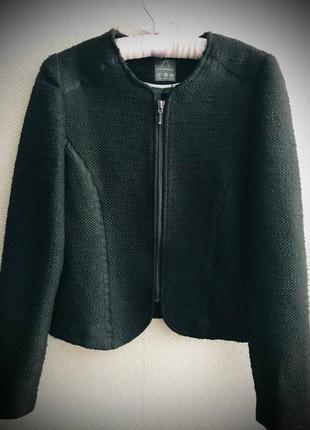 Шерстяной пиджа куртка