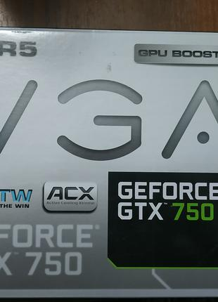Видеокарта Nvidia Geforce GTX 750ti EVGA