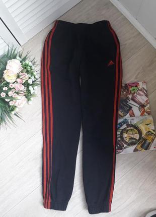 Теплые спортивные штаны 11-12 лет adidas оригинал