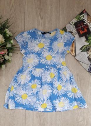 Платье в ромашки 1,5-2 года george