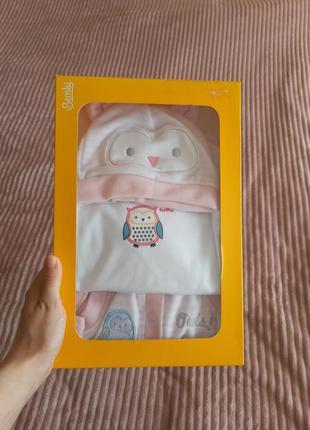Детский костюм. детский комплект. детская шапочка. детский бодик