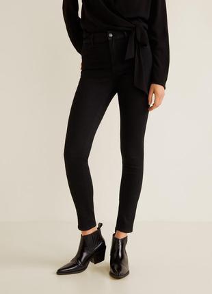 Модные джинсы с высокой посадкой размер с mango 2019