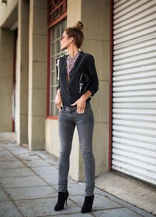 Модные серые джинсы хл(14)esmara