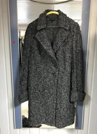 Пальто шерстяное claudia strater фирменное оригинал размер 42 ...