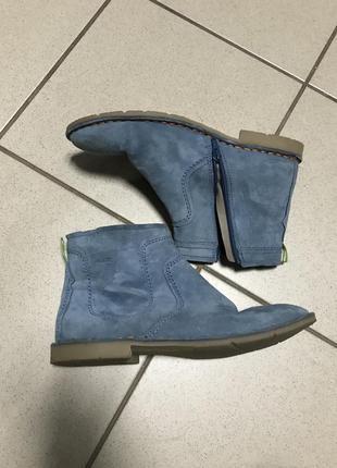 Ботинки marc кожаные фирменные стильные размер 40