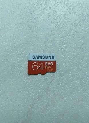Карта памяти Samsung 64 гб