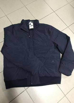 Куртка зимняя adidas оригинал фирменная тёплая размер 52-54