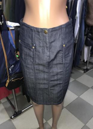 Джинсовая юбка карандаш vila