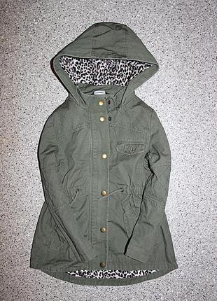 Деми куртка парка ветровка
