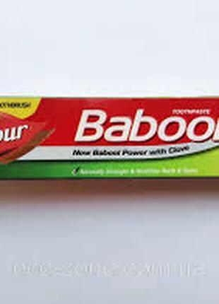 Зубна паста Бабул Дабур без фтора 90 г.+зубна щітка Babool Dabur