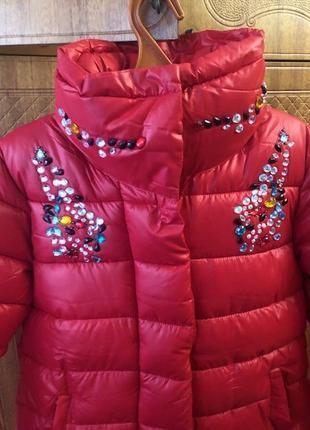 Акция!!! 1+1=3 зимняя куртка пуховик