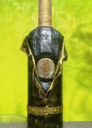 Бутылка-декор для святой воды.