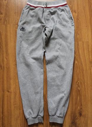 Теплые байковые спортивные штаны на заклепках с начесом мирово...