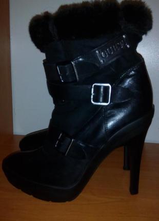 23см стелька кожаные деми ботинки 37размер
