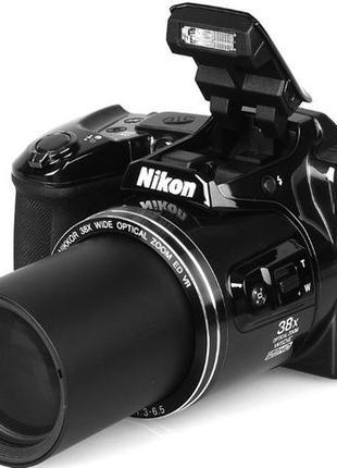 Фотоаппарат Nikon Coolpix L840/Black/Wi-Fi/(Можно управлять по...