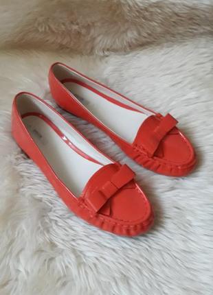 Кожаные туфли geox 41 размер