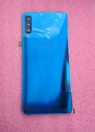 Задняя крышка Samsung SM-A750 Galaxy A7 Blue gh82-18103D