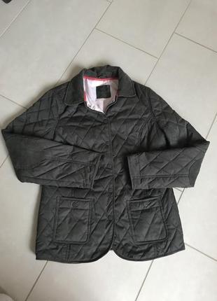 Куртка стеганая демисезонная denim co