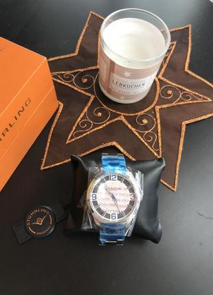 Часы наручные мужские stührling кварц очень стильные фирменные...