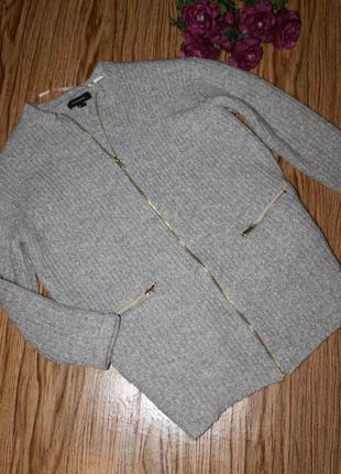 Классная кофта-пальто размер 10