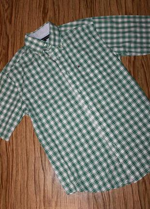 Мужская рубашка c коротким рукавом  размер с-м