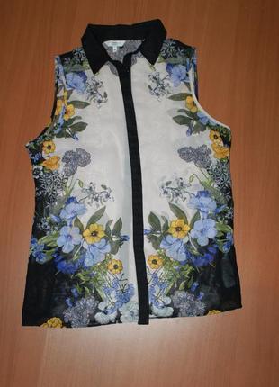 Блузка шифоновая размер 10