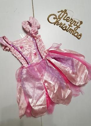 Новогоднее платье на девочку 3-4 года