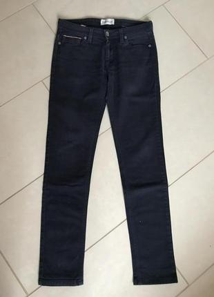 Джинсы фирменные модные стильные moncler оригинал размер 28 или s