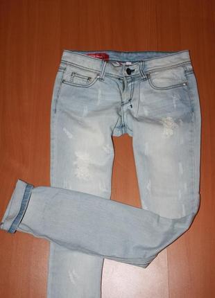 Рваные джинсы размер хс
