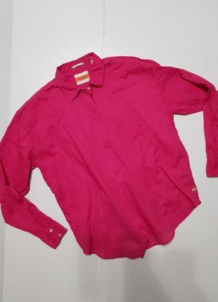 Яркая рубашка размер хс -с