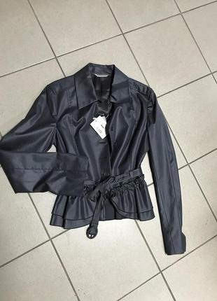 Пиджак фирменный оригинал стильный дорогой бренд stefanel разм...