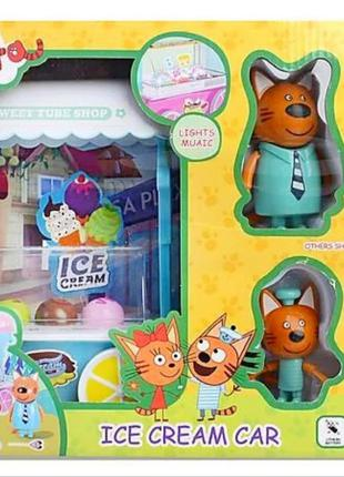 Игровой набор Три Кота Фургончик с Мороженым