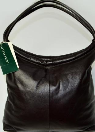 Оригинальная новая кожаная сумка laura ashley оригинал
