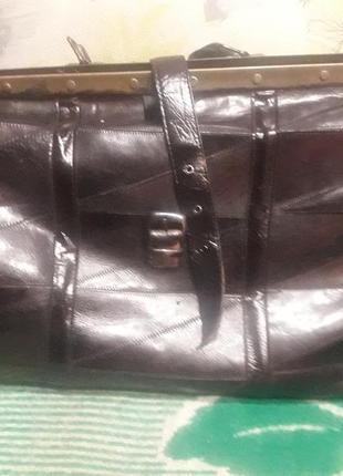 Дорожный саквояж. сумка дорожная.  кожаная сумка большая