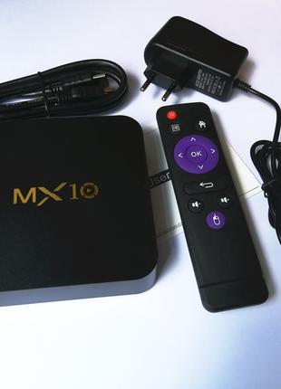 Смарт ТВ приставка NETBOX MX10 4G + 32G