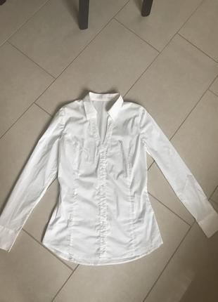 Рубашка блуза фирменная модная стильная guess размер м