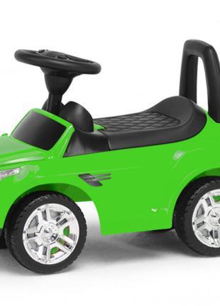 Детская машина-каталка с высокой спинкой и широкими колесами C...