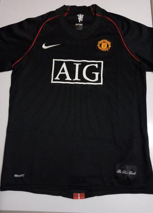 Спортивная коллекционная футболка manchester united