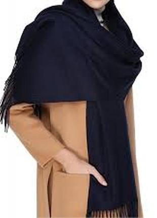 Шикарный тёплый шерстяной шарф италия