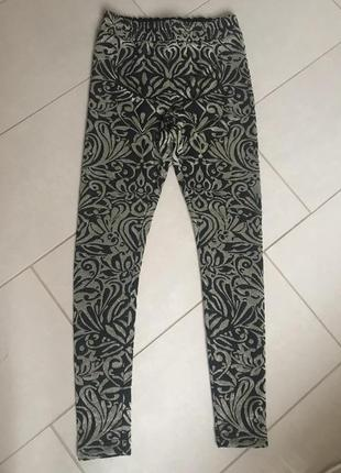 Облегающие брюки с завышенной талией модные дорогой бренд gann...
